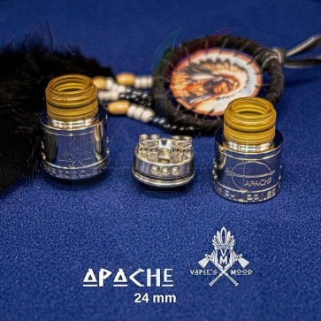 Apache RDA 24mm SS - MCV x Vaper's Mood