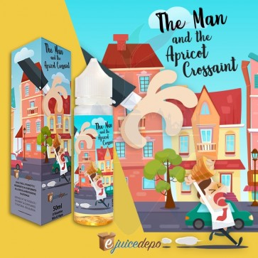 The Man and The Apricot Croissant 50ml Mix Series - EjuiceDepo