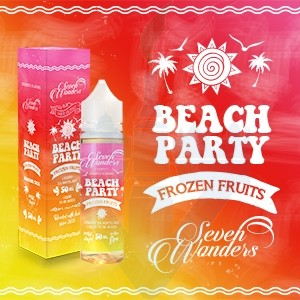 Beach Party 50ml Mix Series - Seven Wonders