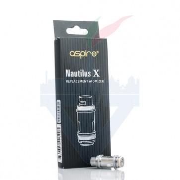 Testine Coil di ricambio Nautilus X 1,5 Ohm Confezione da 5 pezzi - Aspire