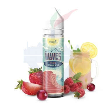 Aroma Concentrato Waves Pink Lemonade 20ml Grande Formato - Omerta Liquids