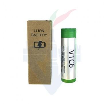 VTC 6 - 18650 pin piatto Nuova Versione - Sony