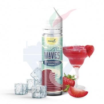 Aroma Concentrato Waves Strawberry Sorbet 20ml Grande Formato - Omerta Liquids