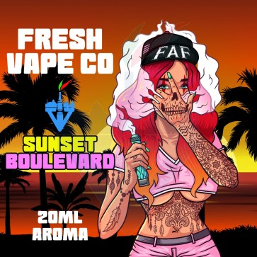 Aroma Concentrato Sunset Boulevard 20ml Grande Formato - Fresh Vape Co