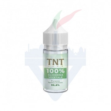 Glicerina Vegetale 30ml - TNT Vape