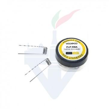 Coil Pronte PnP-RBA 0,6ohm Confezione da 10 Pezzi - Voopoo