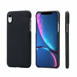 Cover MagEz Case per iPhone XR 6.1'' (Black/Grey) - Pitaka