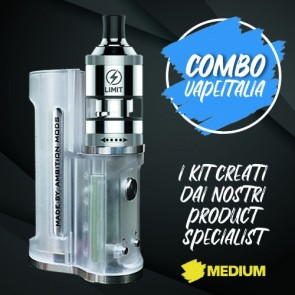 Kit Easy Side Box Mod + Limit MTL RTA - Vapeitalia
