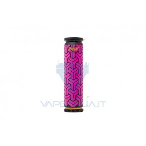 Able Mod Copper Geometric Tetra Pink/Black with Rings - Avid Lyfe