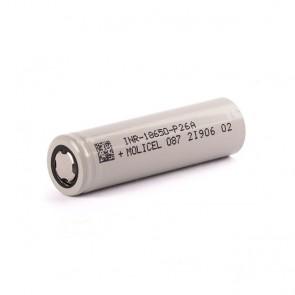 P26A INR 18650 2600mAh 35A - Molicel