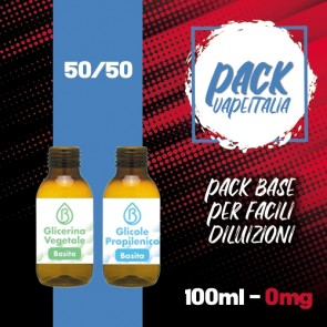 Pack Base 100ml 50/50 0mg - Basita