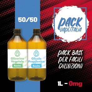 Pack Base 1000ml 50/50 0mg - Basita