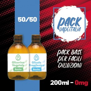 Pack Base 200ml 50/50 0mg - Basita