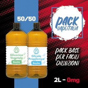 Pack Base 2000ml 50/50 0mg - Basita