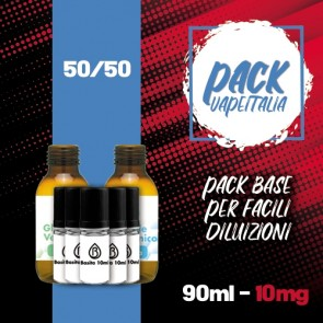 Pack Base 90ml 50/50 10mg - Basita