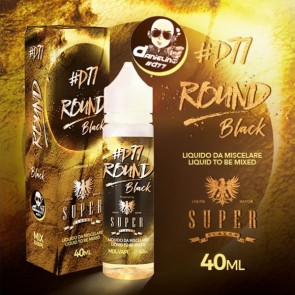 Round Black 40ml Mix Series - Super Flavor