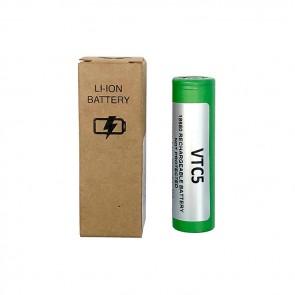 VTC 5 - 18650 pin piatto Nuova Versione in Case di plastica - Sony