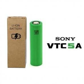 VTC 5 A - 18650 pin piatto Nuova Versione in Case di cartone - Sony