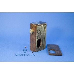 Wood Box Mod Brass Edition - Wood Vape
