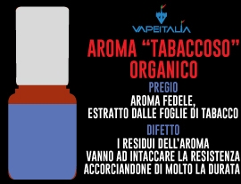 aroma tabaccoso organico