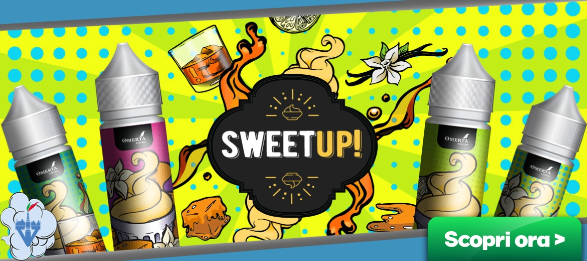 omerta liquids sweet up liquidi aromi scomposti shot 20ml sigarette elettroniche online vapeitalia