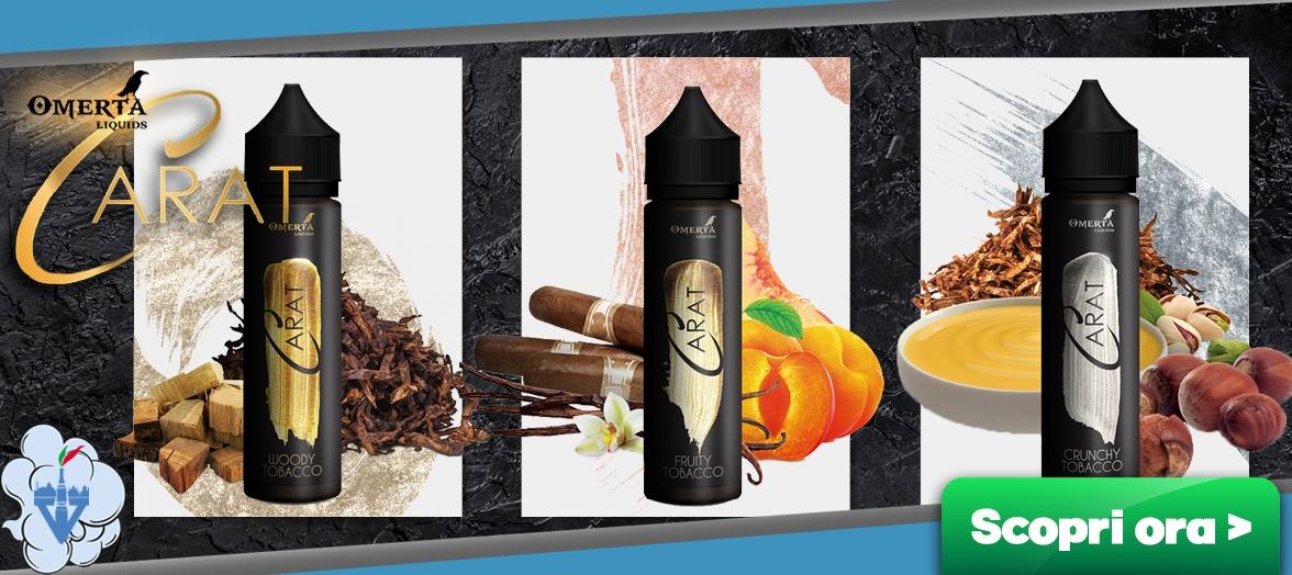omerta liquids the carat aromi shot scomposti 20ml liquidi sigarette elettroniche online vapeitalia