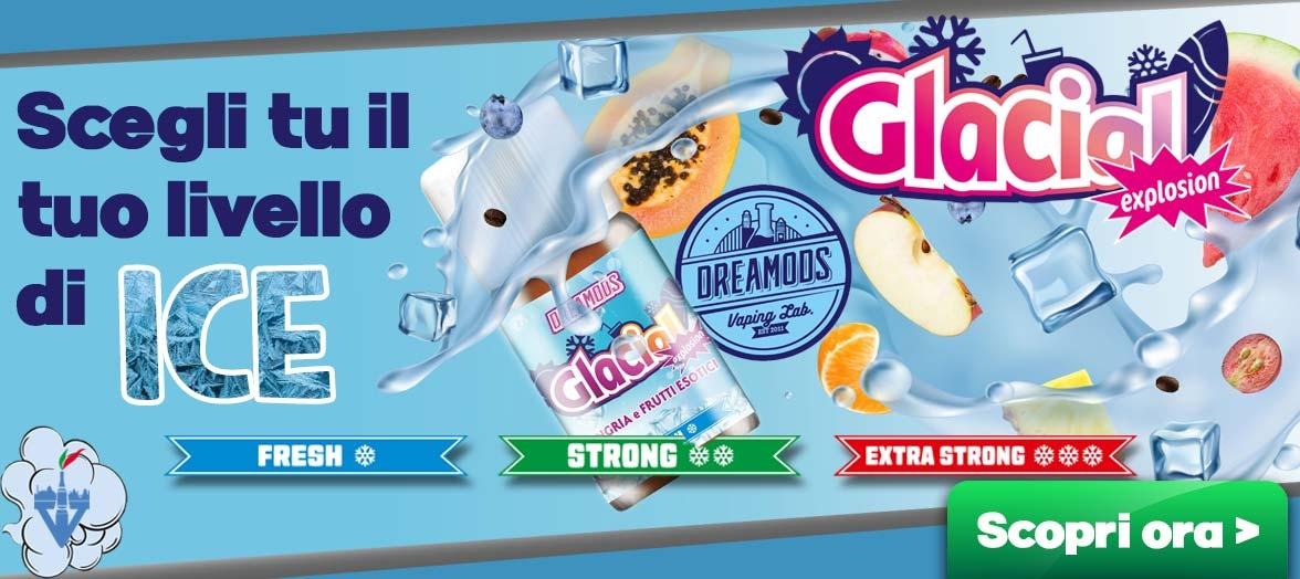 dreamods glacial aromi concentrati 10ml liquidi sigaretta elettronica vapeitalia