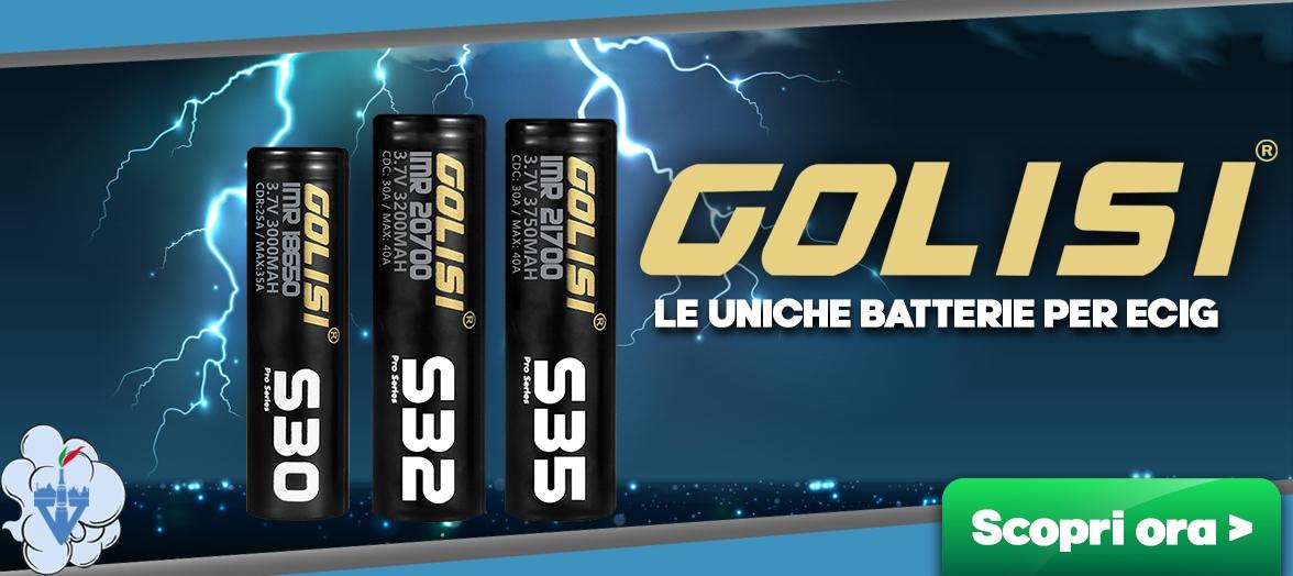 batterie 18650 18350 21700 20700 sigaretta elettronica svapo box mod golisi vapeitalia acquisto online