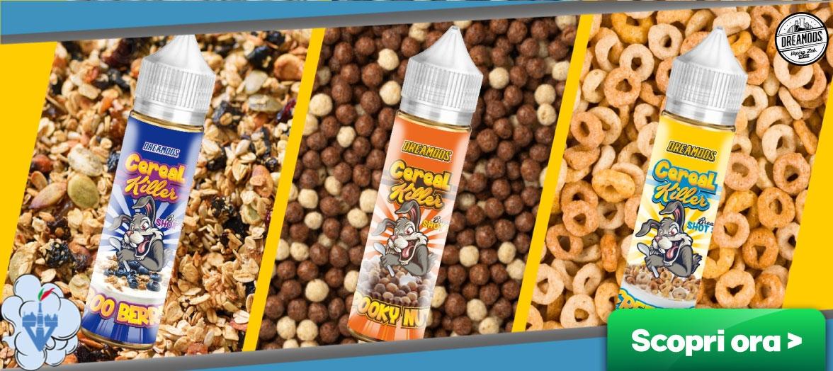dreamods cereal killer liquidi aromi sigaretta elettronica vendita sito online vapeitalia