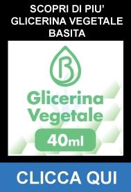 Glicerina Vegetale Pura 40ml su 120ml - Basita