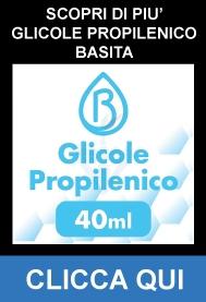 Glicole Propilenico Pura 40ml su 120ml - Basita