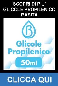 Glicole Propilenico Pura 50ml su 120ml - Basita