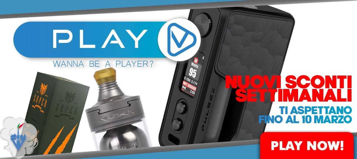 sconti della settimana offerte sigarette elettroniche atomizzatori liquidi basette aromi kit mods box aio svapo vapeitalia