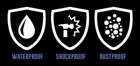 waterproof dustproof e shockproof
